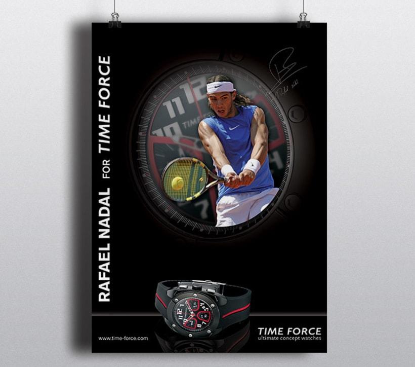 Time Force for Rafa Nadal 1