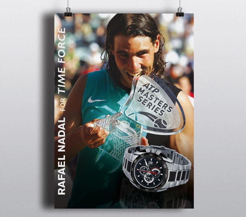 Time Force for Rafa Nadal 2