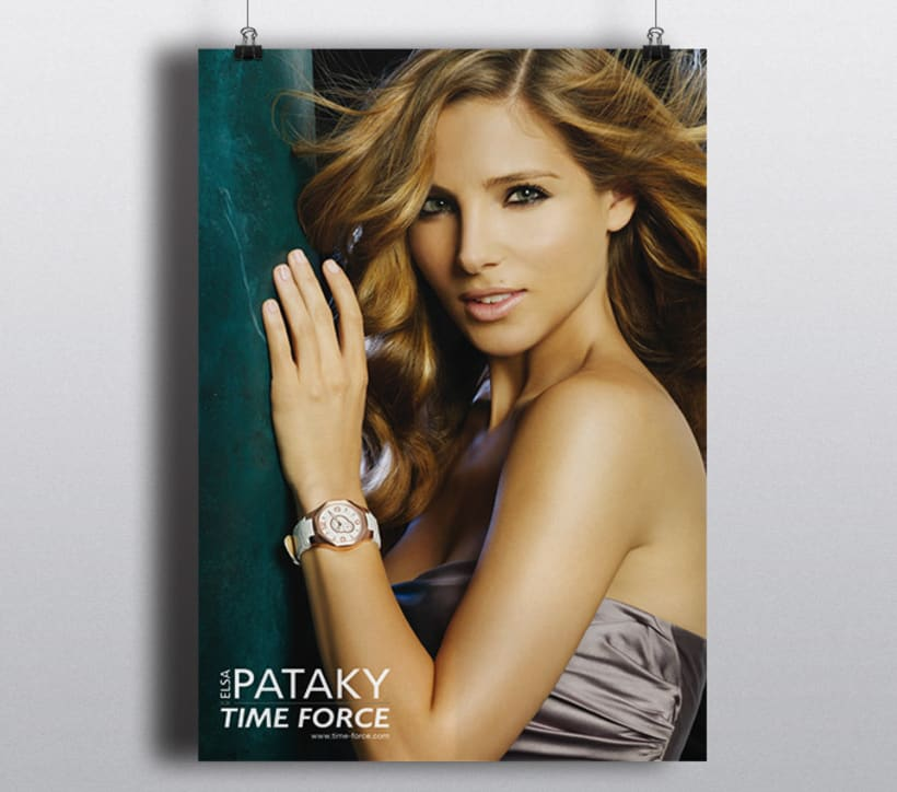 Time Force for Elsa Pataky 1