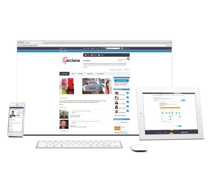 Diseño Portal Web Gonway 0