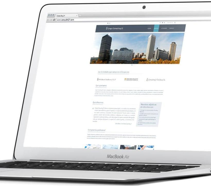 Diseño y Desarrollo web GC21 0