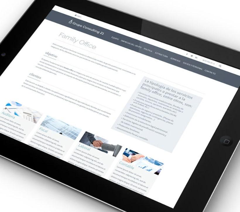 Diseño y Desarrollo web GC21 1