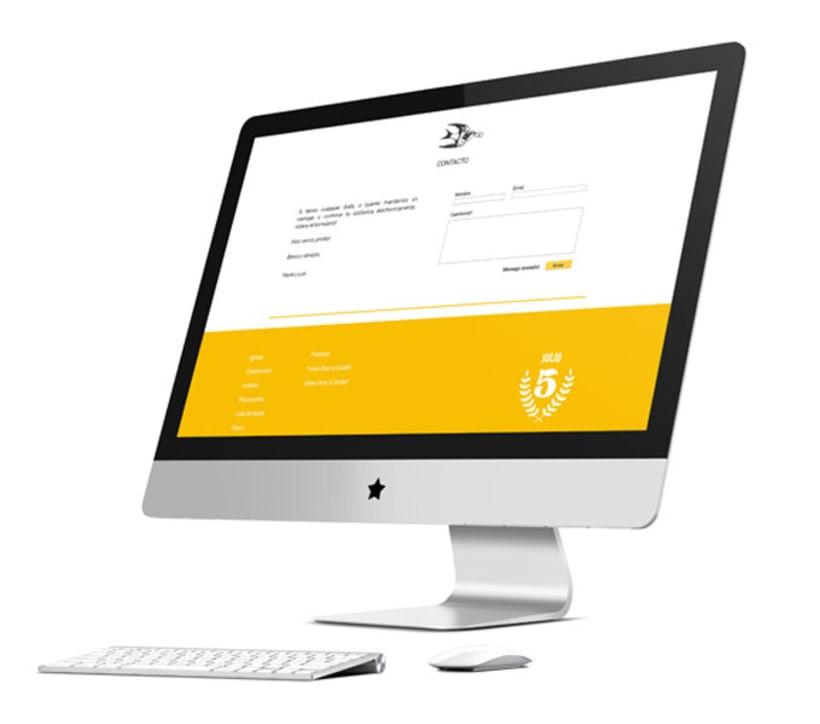 Diseño y Desarrollo web boda 1