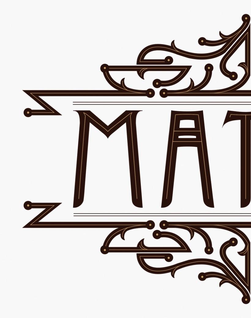 Logotipo para mi banda de 'Matote'. 1