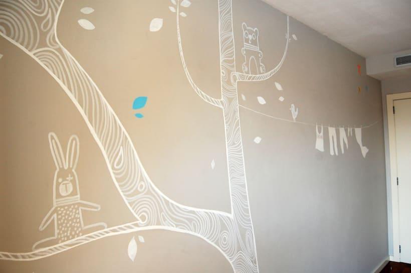 Mural infantil. 0