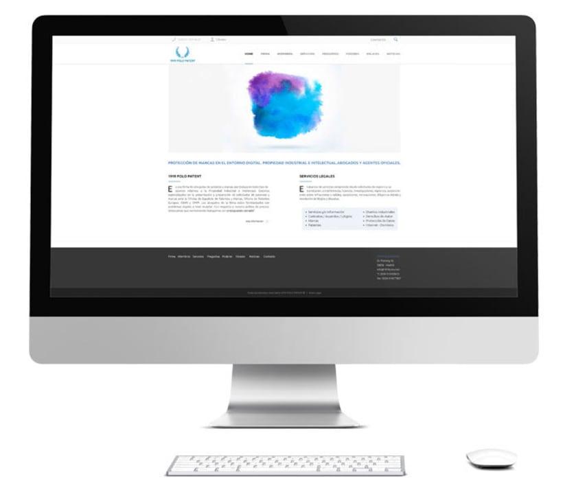 Diseño y Desarrollo web Polo Patent -1