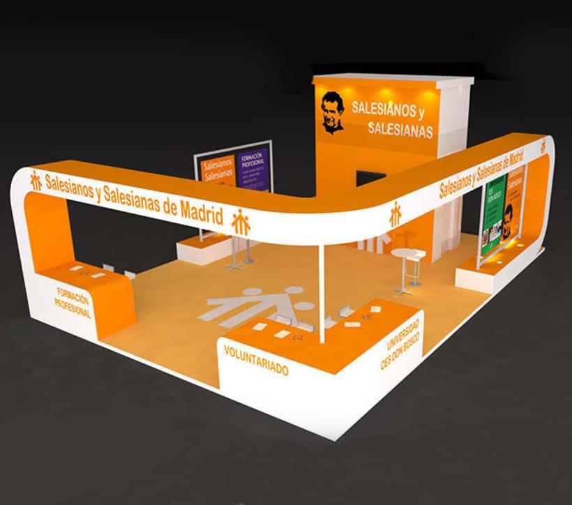 Diseño Stand Feria Aula 1