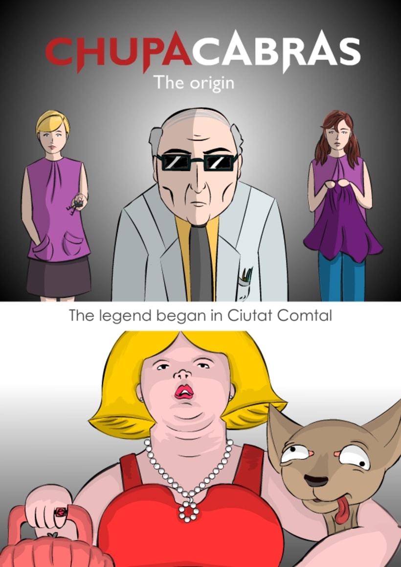 Comic - Chupacabras. El Origen 1
