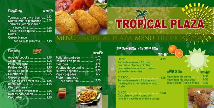 Cartas de comidas para restaurantes 8
