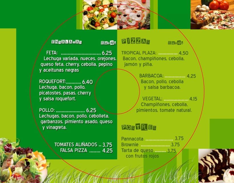 Cartas de comidas para restaurantes 9