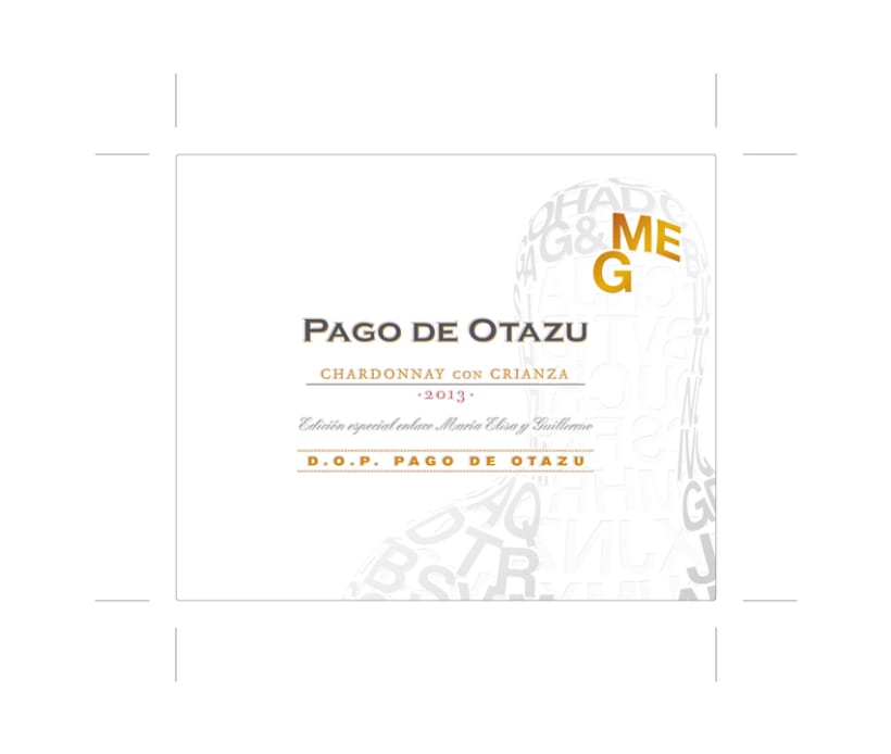 Diseño Etiquetas Vino Otazu & Infografías 3D 10
