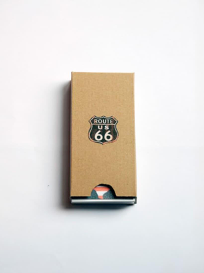 """DISEÑO EDITORIAL: Guía """"ROUTE 66"""" 1"""