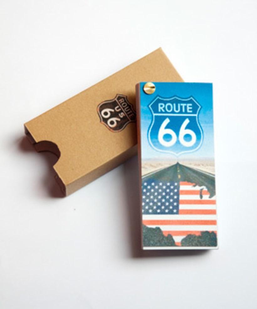 """DISEÑO EDITORIAL: Guía """"ROUTE 66"""" 2"""