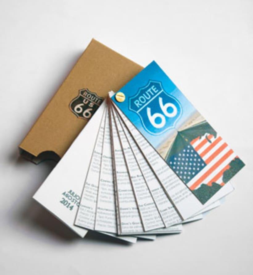 """DISEÑO EDITORIAL: Guía """"ROUTE 66"""" 3"""