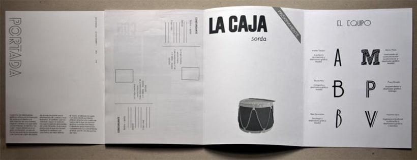 "DISEÑO EDITORIAL: Revista ""LA CAJA"" 1"