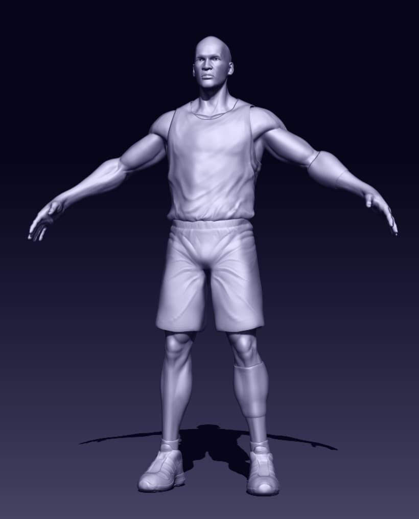 Michael Jordan 3D -1