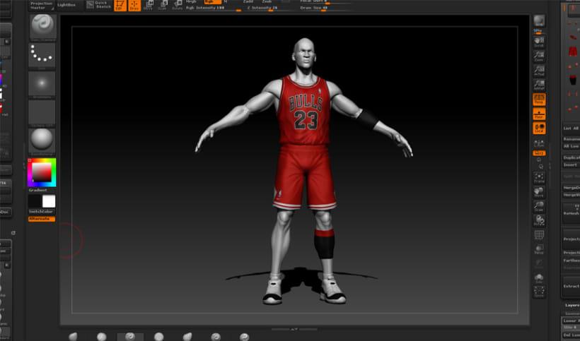 Michael Jordan 3D 0