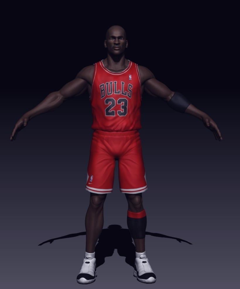 Michael Jordan 3D 1