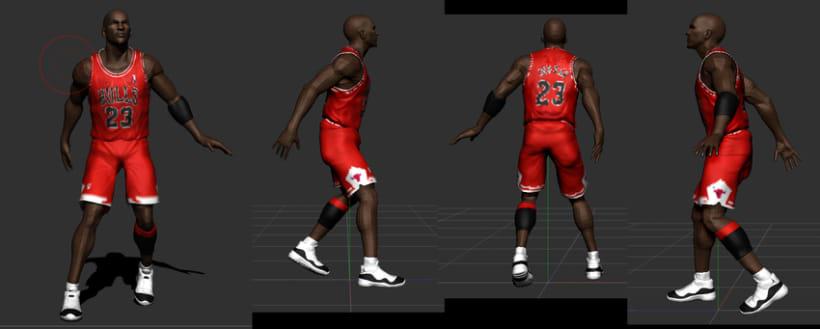 Michael Jordan 3D 2