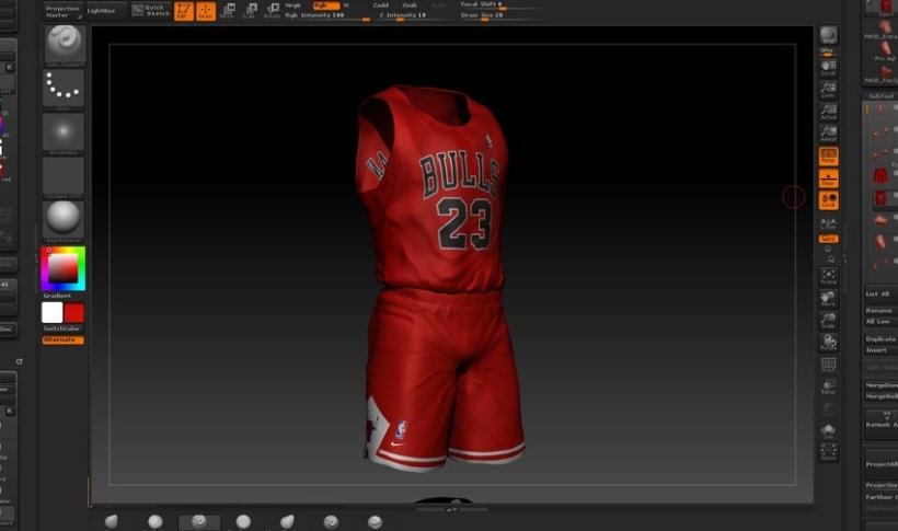 Michael Jordan 3D 3