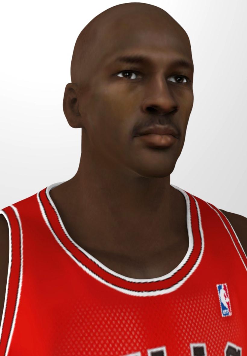 Michael Jordan 3D 4