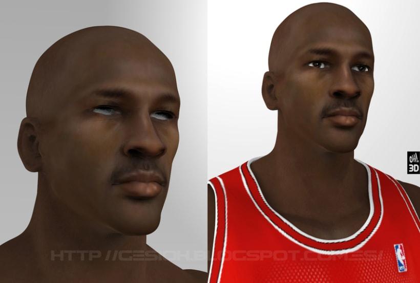 Michael Jordan 3D 5