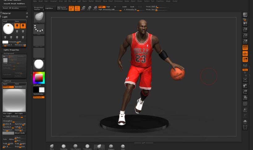 Michael Jordan 3D 6