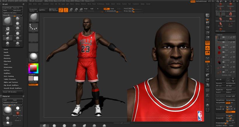 Michael Jordan 3D 7