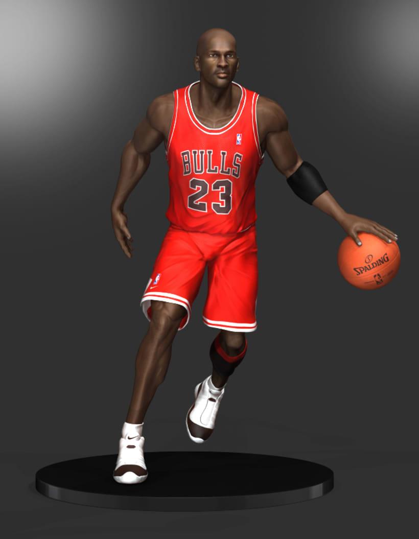 Michael Jordan 3D 8
