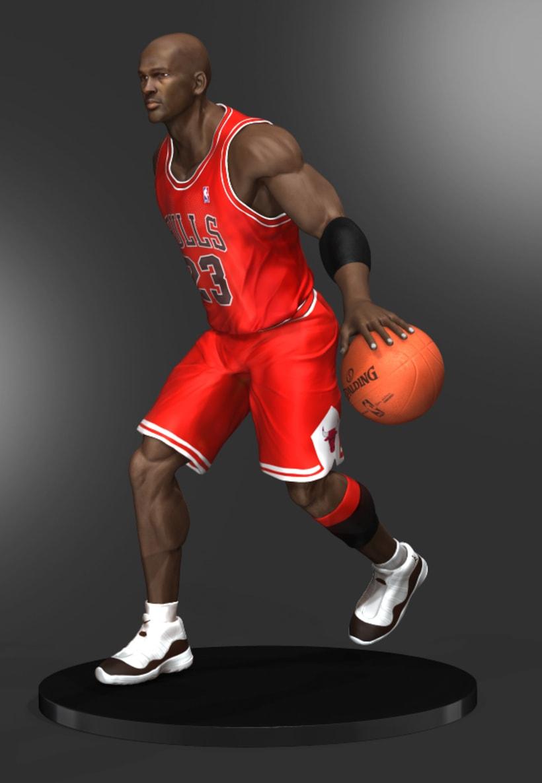 Michael Jordan 3D 9