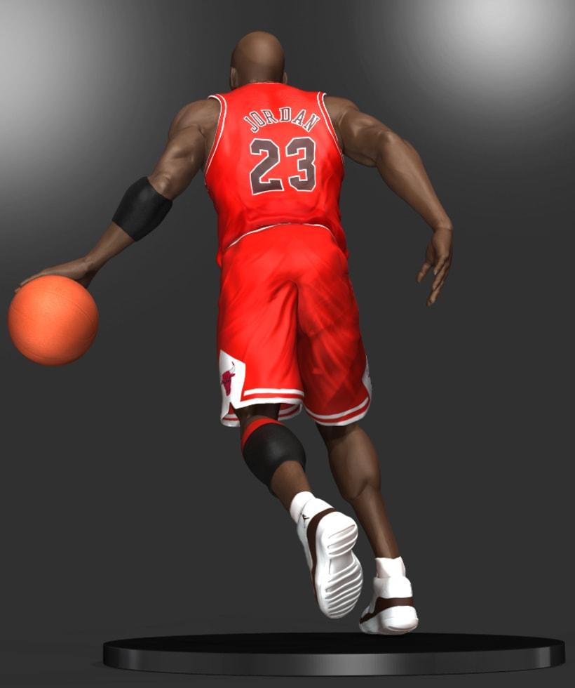 Michael Jordan 3D 10