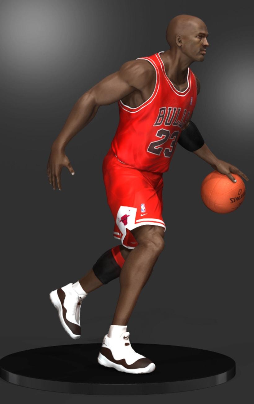 Michael Jordan 3D 11