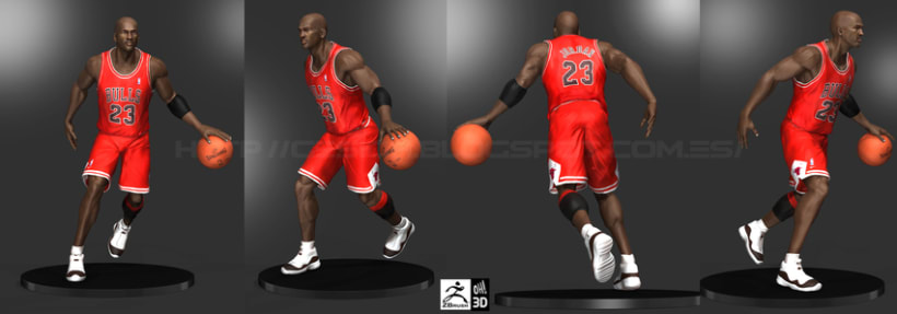 Michael Jordan 3D 12