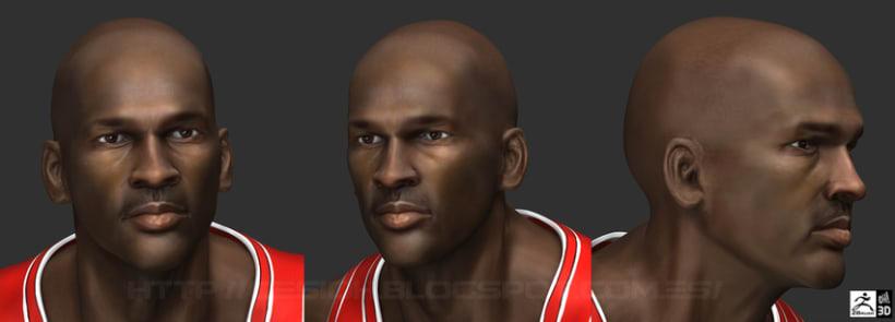 Michael Jordan 3D 13