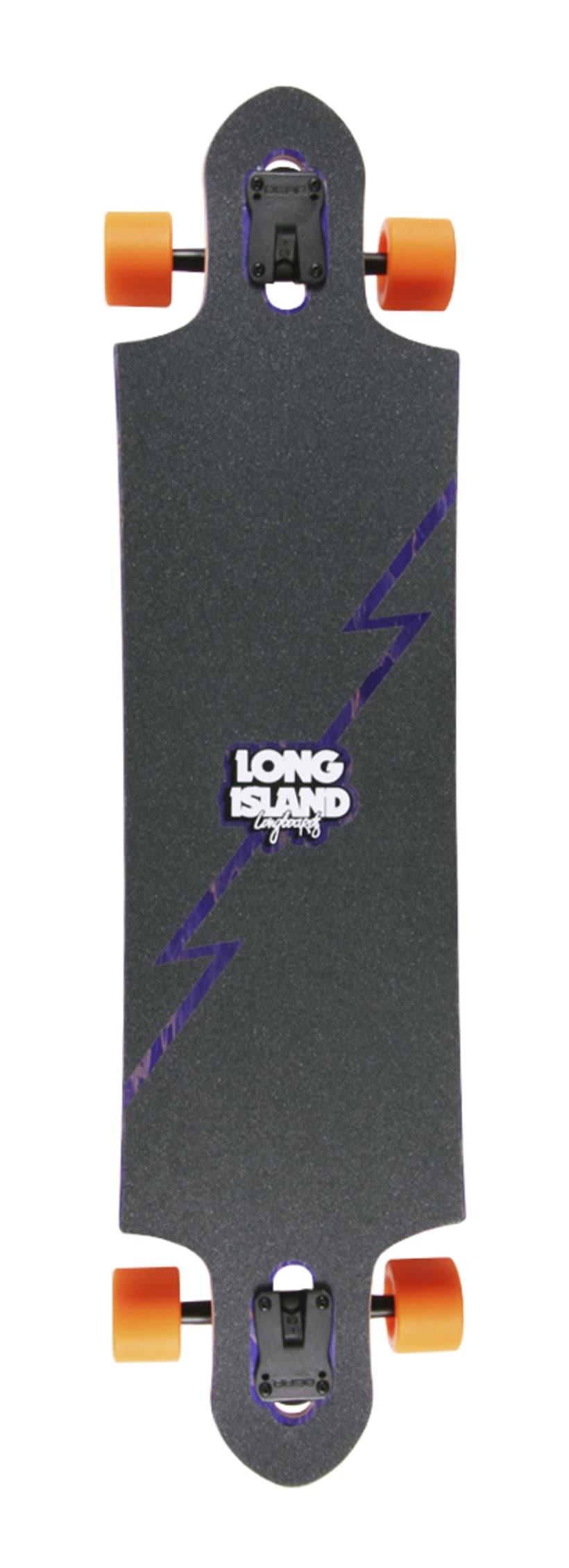 Long Island Longboards - Ilustraciones para diseños de tablas 0