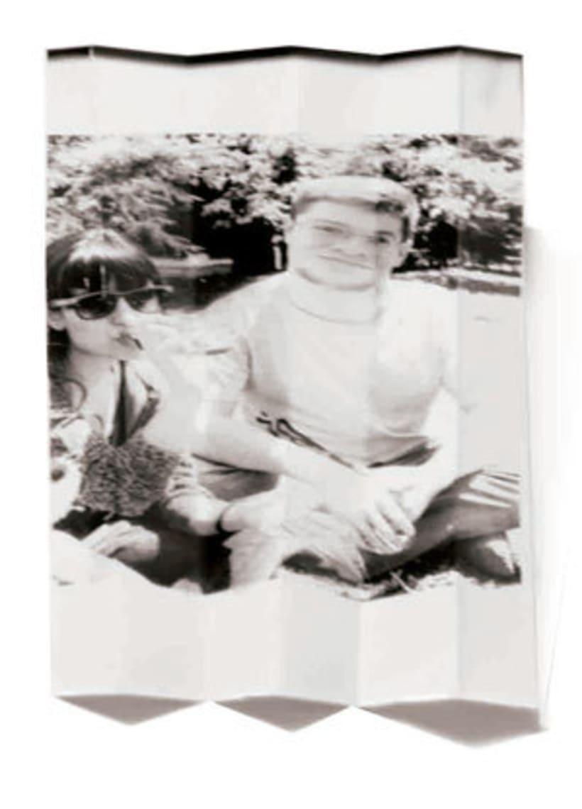 FOTOGRAFÍA ANALÓGICA: Distorsiones del pliegue 1
