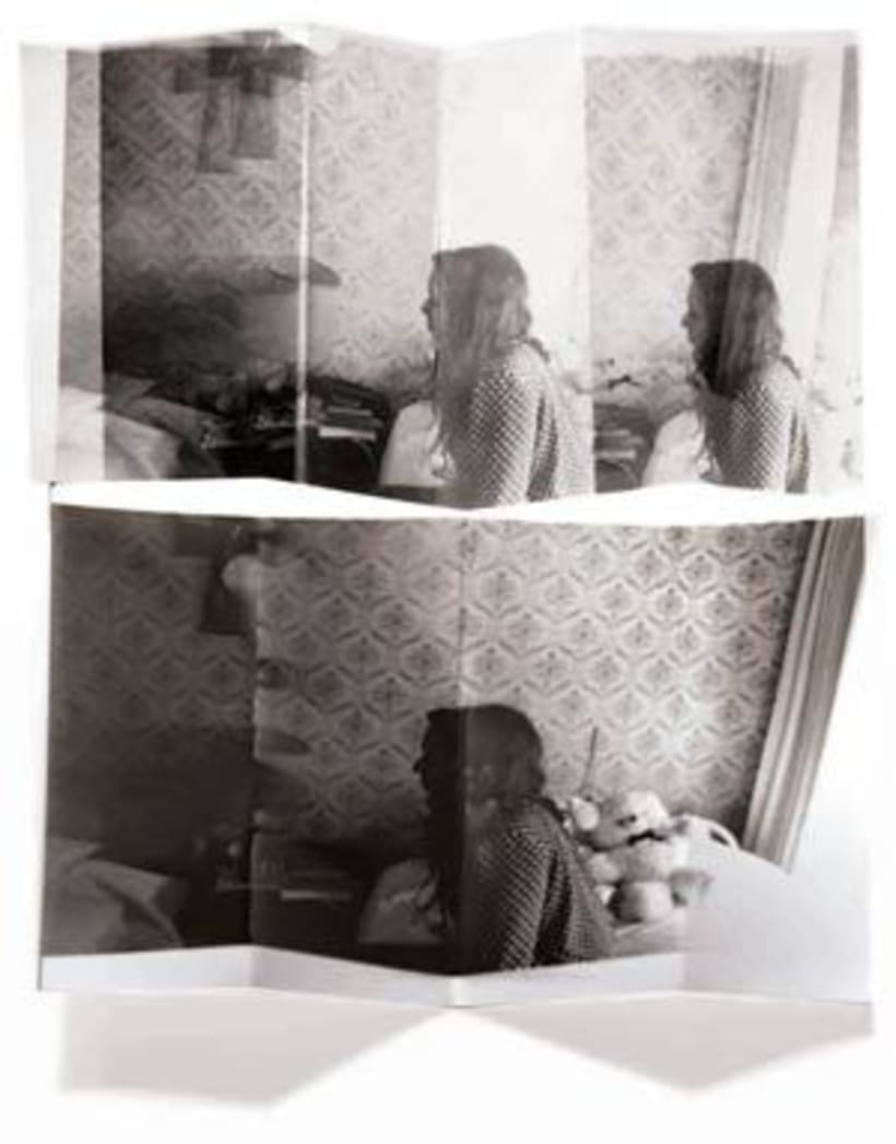 FOTOGRAFÍA ANALÓGICA: Distorsiones del pliegue 3