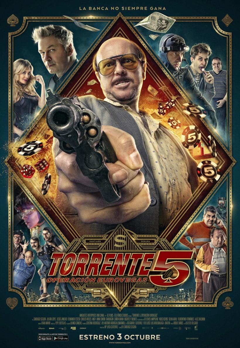 Posters de Torrente 5 1