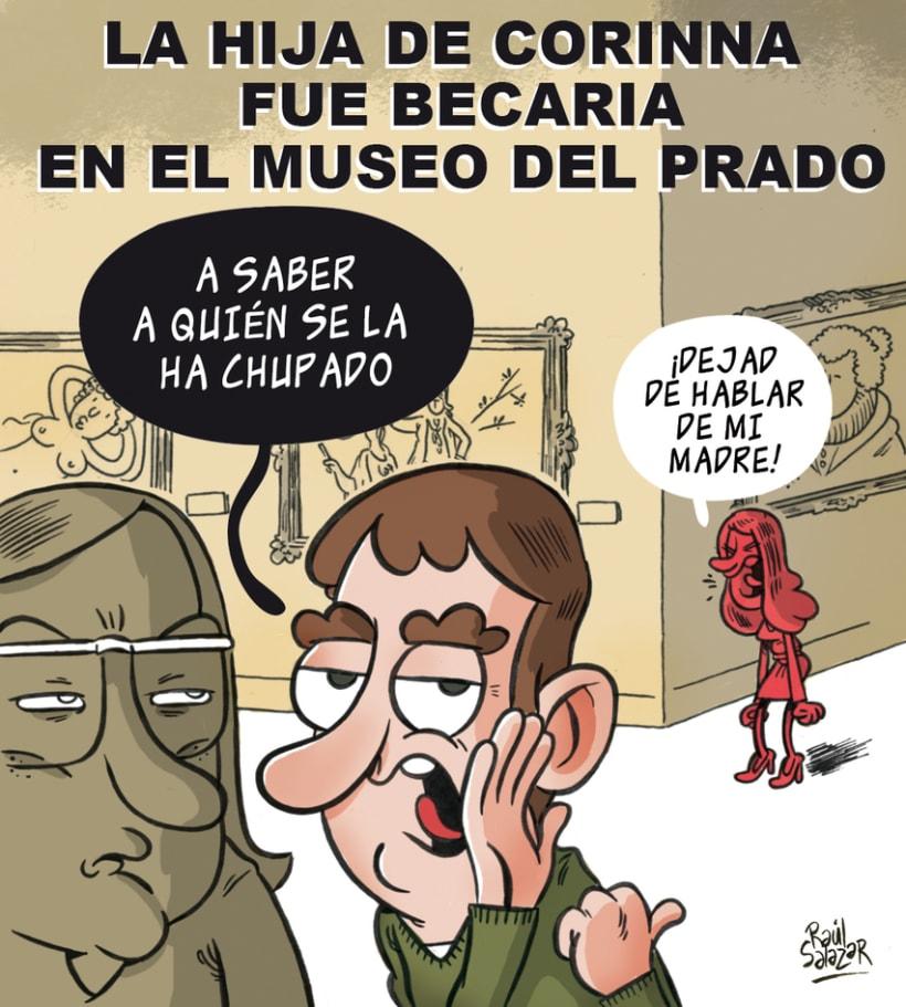 """""""Biba el Rey"""" (humor gráfico) 0"""