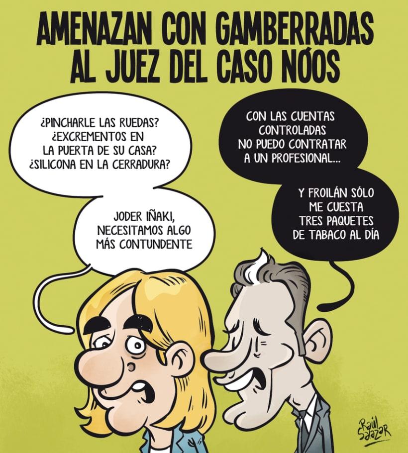 """""""Biba el Rey"""" (humor gráfico) 3"""