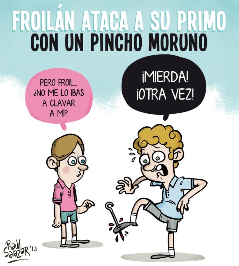 """""""Biba el Rey"""" (humor gráfico) 5"""