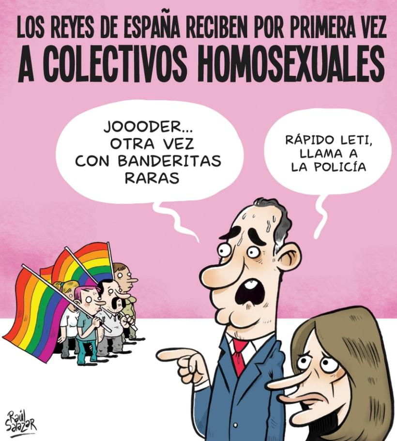 """""""Biba el Rey"""" (humor gráfico) 6"""