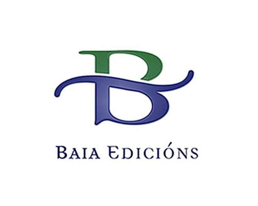 Marca para a editorial galega Baia Edicións 1