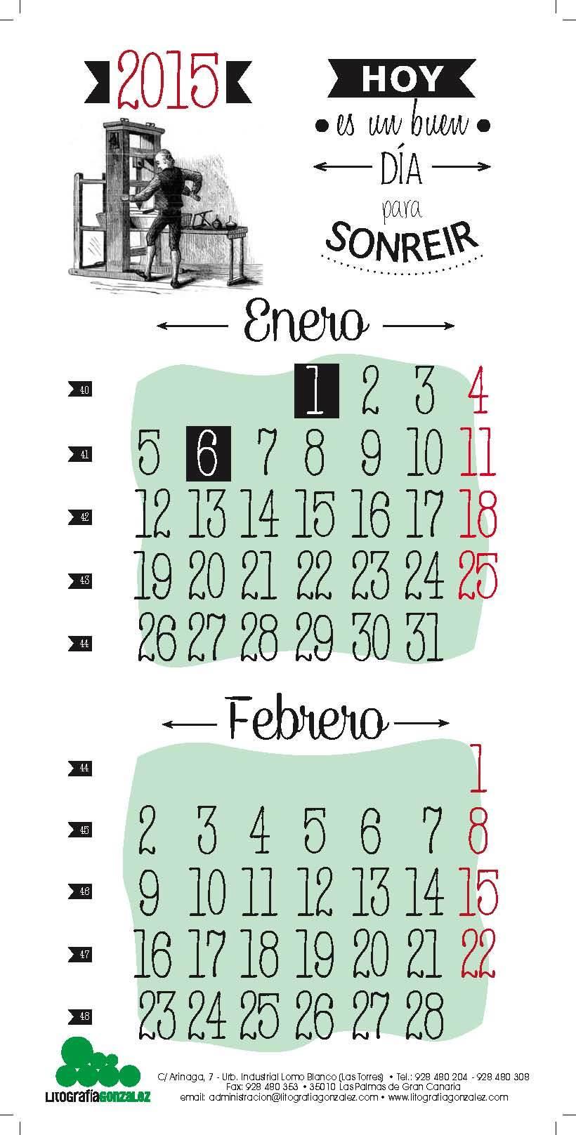 Calendarios 0