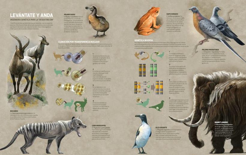 Revivir especies, Quo Junio 2014 0