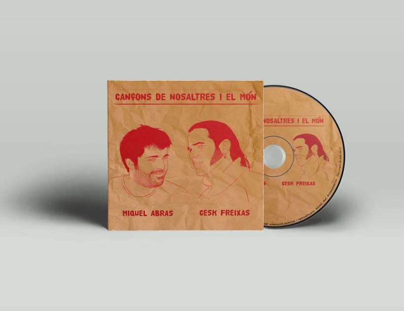 CD Cançons de nosaltres i el món - Miquel Abras / Cesk Freixas 0