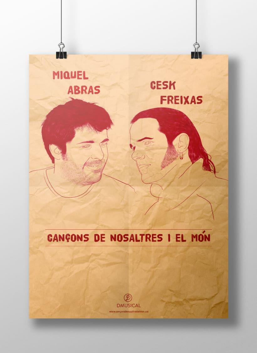 CD Cançons de nosaltres i el món - Miquel Abras / Cesk Freixas 2