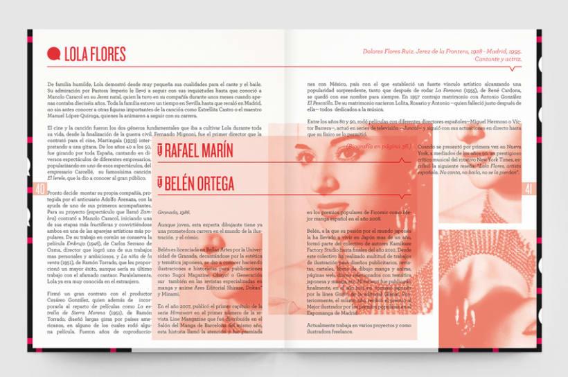 Tirititrán, tran, tran. Un libro sobre flamenco y cómic 1