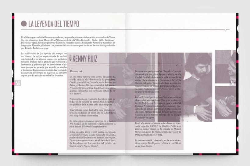 Tirititrán, tran, tran. Un libro sobre flamenco y cómic 4