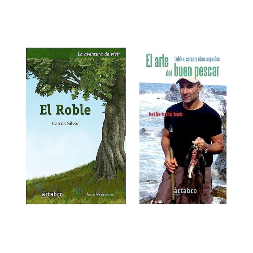 Marca para editorial galega Ártabro Editora 3